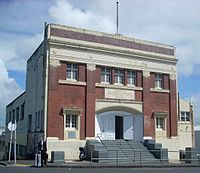 Auckland orange hall