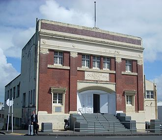 Newton, New Zealand - The former Orange Hall, a well-known Newton landmark.