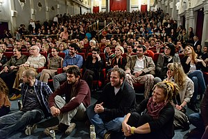 Subversive Festival - Audience at the Festival