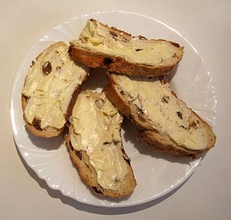 Easter bread - Easter bread as typically served in northern Germany for either breakfast or tea