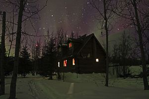 Wiseman, Alaska - House in Wiseman