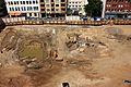 Ausgrabung auf der Baustelle Schloßstraße (54) (27377477605).jpg