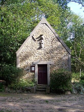 Saintin de Meaux - The chapel of Saint Santin in the Auteuil-le-Roi