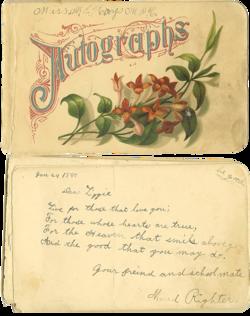 Autograph Book Wikipedia