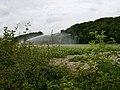 Automated watering of potato field near Wetwang - geograph.org.uk - 198907.jpg
