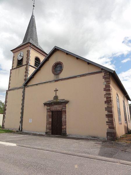 Autrepierre (M-et-M) église