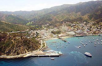 SS Catalina - Avalon harbor on Catalina Island