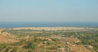 Avola Comune in Sicily, Italy