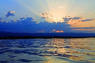 Lake Ayger - Image: Ayghr lake