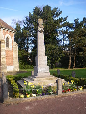 Béhagnies - Monument aux morts.JPG