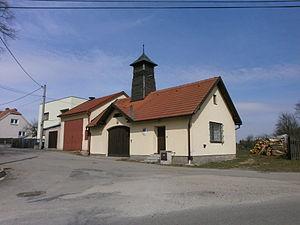 Březejc - Image: Březejc hasičská zbrojnice