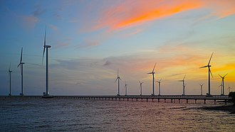 Bạc Liêu Province - Bạc Liêu windpower farm