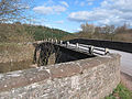 B4521 crosses Skenfrith Bridge - geograph.org.uk - 714676.jpg