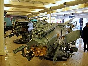 BL 5.5 inch Mark I naval gun - Image: BL5.5inch 50cal Mk I Naval Gun IWM August 2006