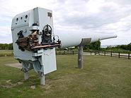 BL 14 inch Mk VII naval gun fort nelson