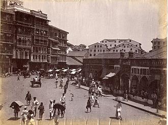 Timeline of Mumbai - Mumbai ca. 1890
