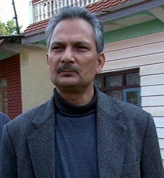 Baburam Bhattarai - Image: Baburam bhattarai