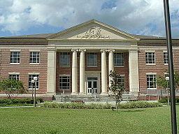 Baker Countys domstolhus i Macclenny.