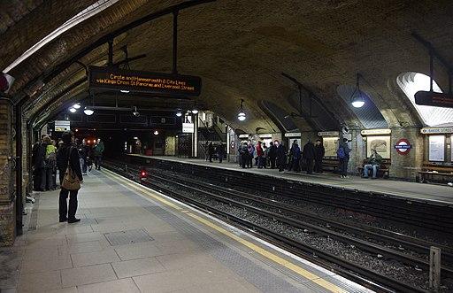 Baker Street tube station MMB 03