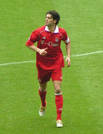 Michael Ballack - Ballack playing for Bayern Munich in April 2006.