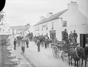 Ballyvaughan - Ballyvaughan in the late 19th century