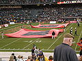 Band of the Hour performing pregame at 2008 Emerald Bowl 1.JPG
