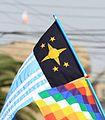 Bandera Regioanlista y Wiphala.jpg