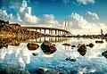 Bandra Worli Sealink Reflection.jpg