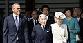 Barack Obama Emperor Akihito and Empress Michiko cropped Barack Obama Emperor Akihito and Empress Michiko 20140424 1.jpg