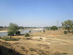 Barakar River at Barano village, Jharkhand.JPG