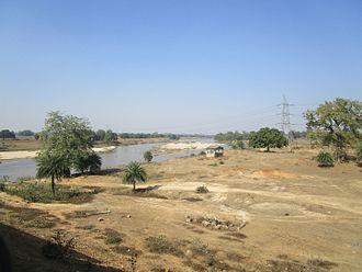Barakar River - Barakar River at Barano, Hazaribagh, Jharkhand