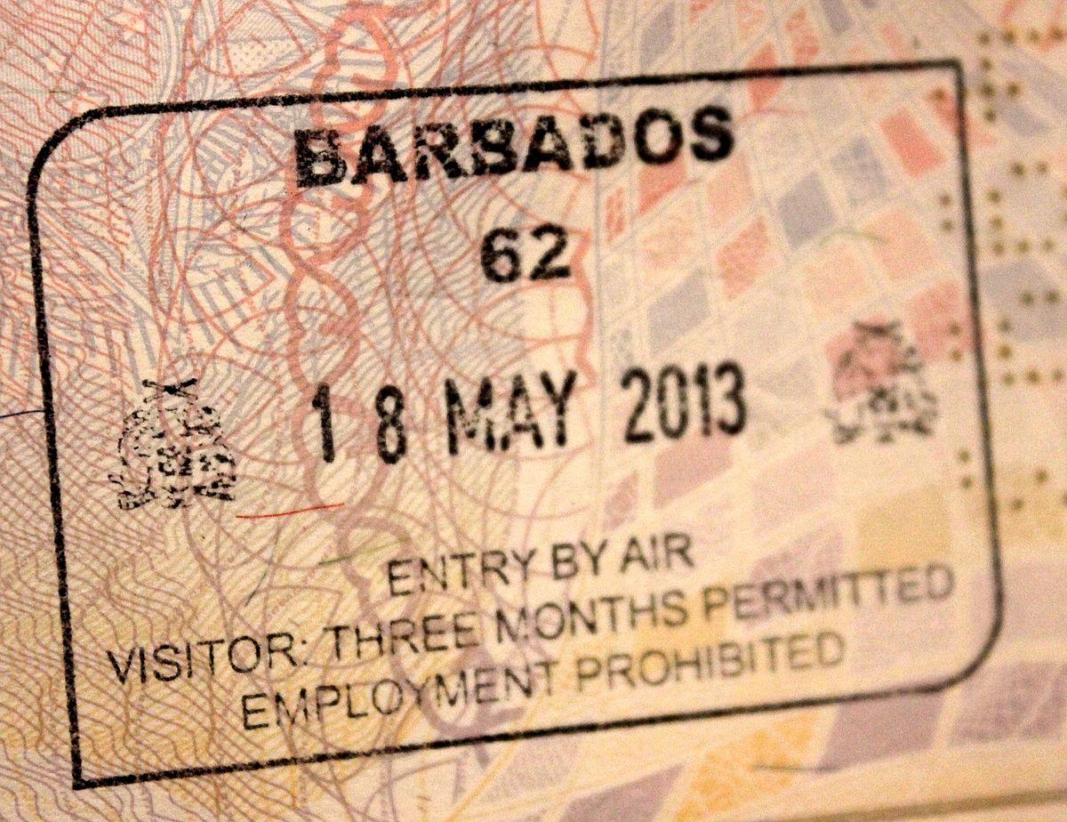 1200px-Barbados_-_Aeroporto_de_Bridgetown_-_Entrada Official Australian Visa Application Form on italy schengen, enter japan sample, b1 b2, ds-260 immigrant,