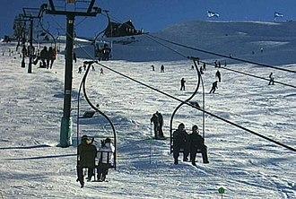 Cerro Catedral - Image: Bariloche Cerro Catedral Esquí