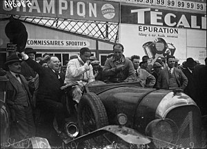 1928 24 Hours of Le Mans - Winners Woolf Barnato and Bernard Rubin