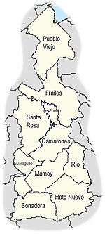 Barrios of Guaynabo, Puerto Rico locator map