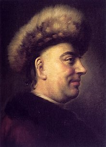 Barthold Heinrich Brockes. Porträt des Altonaer Malers Dominicus van der Smissen (1704–1760) (Quelle: Wikimedia)