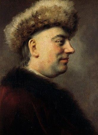 Barthold Heinrich Brockes - Barthold Brockes, Portrait by Dominicus van der Smissen