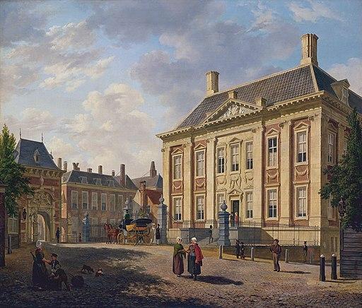 Bartholomeus Johannes van Hove, Het Mauritshuis te Den Haag