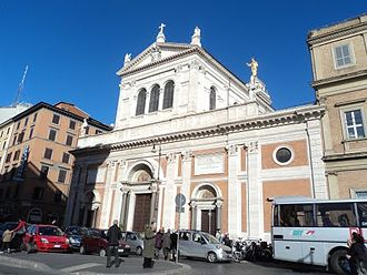 Sacro Cuore di Gesù a Castro Pretorio - Image: Basilica del Sacro Cuore di Gesù 01