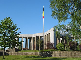 Bastogne - The Mardasson Memorial to soldiers who fought in the Battle of the Bulge in 1944