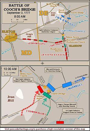 Battle of Cooch's Bridge - Image: Battle of Cooch's Bridge
