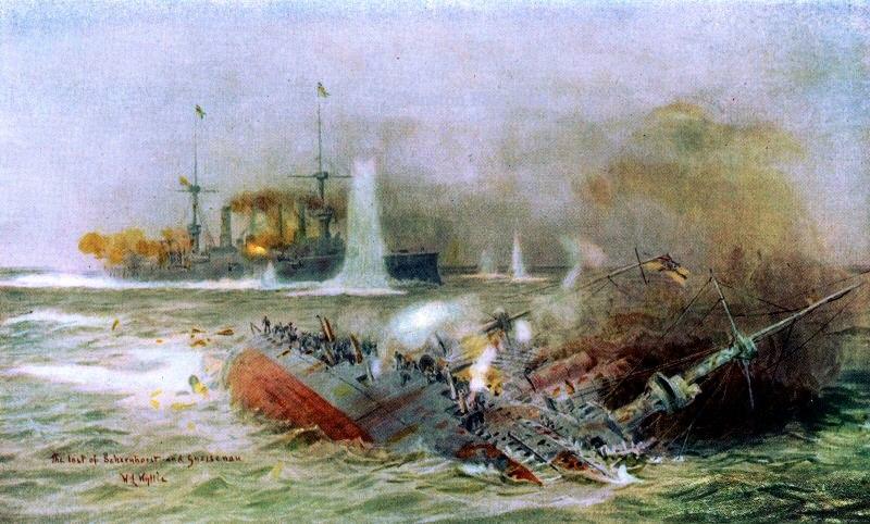 Battle of the Falkland Islands, 1914