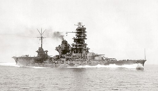 Battleship-carrier Ise