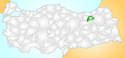 Bayburt Turkey Provinces locator.jpg