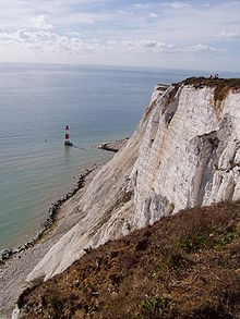 Beachy Head Lighthouse under the cliff.jpg