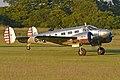 Beech D.18S Expeditor '1164 64' (G-BKGL) (44530617534).jpg