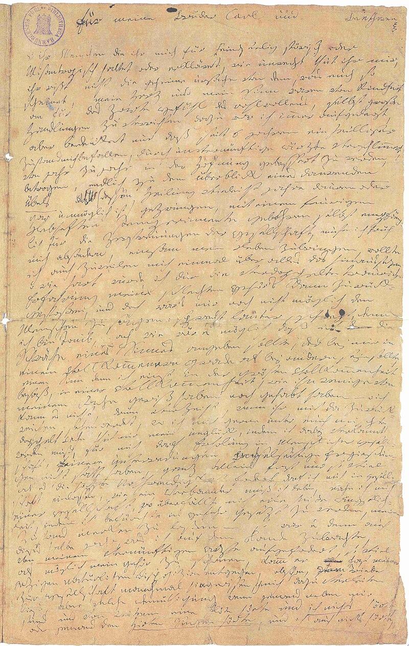 Beethovens Heiligenstädter Testament