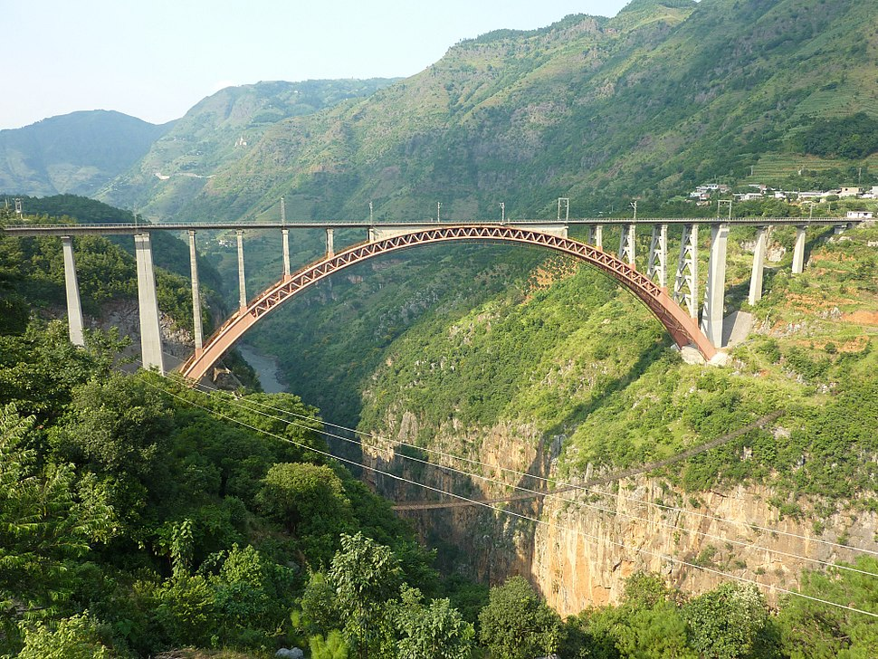 Beipanjiang Railway Bridge-4