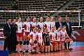 Belgium volleyball women national team 01 - FIVB World Championship European Qualification Women Łódź January 2014.jpg