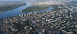 Belgrade - Image: Belgrade Aerial K1